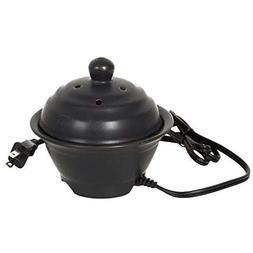 "Hosley's 5"" High Electric Potpourri Pot Ceramic - 110 volts."