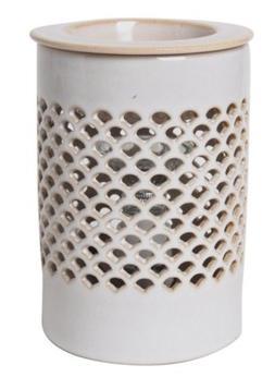 Hosley's Cream Ceramic Electric Fragrance Warmer