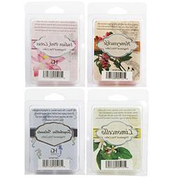 Hosley's Set of 4- Assorted Scent Wax Cubes / Melts - 2.5 oz
