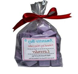 Lavender Soy Candle Wax Melts - 8 OZ  Bag - 16 Wax Disk Chun