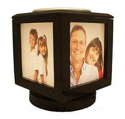 Memory Box Picture Frame Lamp and Electric Wickless Candle W