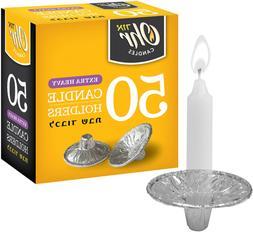 OHR Extra Heavy Disposable Aluminium Foil Candle Holder, Dri