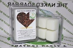 THE NAKED SOAP BAR - ESPRESSO SOY WAX CANDLE TARTS ]