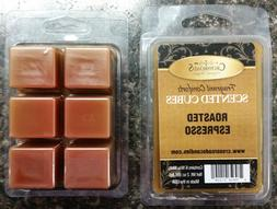 TWO – Crossroads Roasted Espresso 2oz Scented Cubes -Tarts