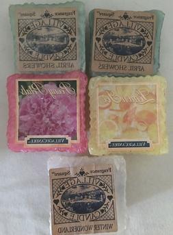 Village Candle Wax Melt Mix Fragrance Wax Tarts Lot of 5 Spr