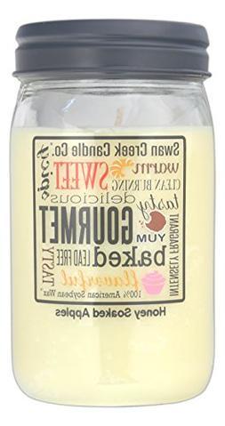 Swan Creek 100% American Soybean 24 Oz. Jar Candle - Honey S