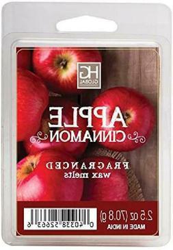 Hosley Apple Cinnamon Scented Wax Cubes/Melts - 2.5 oz Hand