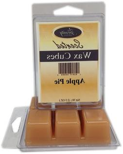 apple pie scented wax cube melts smells