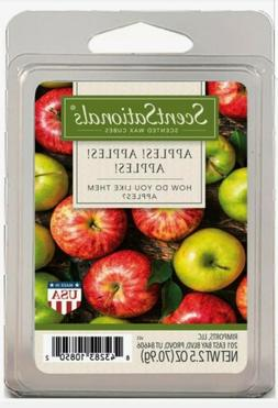 APPLES Fruit Scented Home Fragrance WAX CUBES Melts Tarts Sc