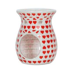 Aroma Red Heart Wax Melt Burner Candle Holder Accessories Ho