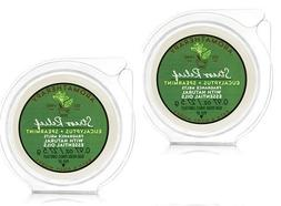 Bath and Body Works 2 Pack Aromatherapy Stress Relief Eucaly
