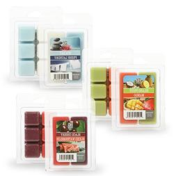 Hosley Set of 6 Assorted Wax Cubes/Melts - 2.5 oz Each. Spa