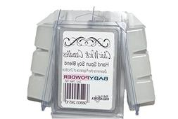 ChicWick Candles 3Pack Baby Powder Soy Blend Wax Melts 9oz 1