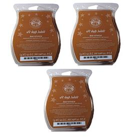 Scentsy Baked Apple Pie Wickless Candle Tart Warmer Wax, 3.2