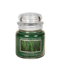 Village Candle Balsam Fir 16 oz Glass Jar Scented Candle, Me