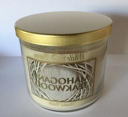 BATH & BODY WORKS WHITE BARN MAHOGANY TEAKWOOD OAK CEDARWOOD