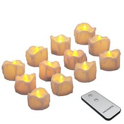 Battery Candles with Remote Flameless LED Tea Lights Realist