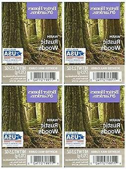 Better Homes and Gardens Warm Rustic Woods Wax Cubes - 4-Pac