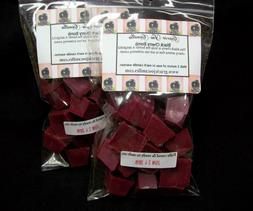 BLACK CHERRY BOMB Scented Tart Wax Melts Chunks Chips Home C