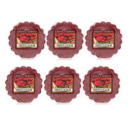 Yankee Candle Lot of 6 Black Cherry Tarts Wax Melts