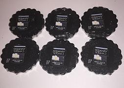 Yankee Candle Lot of 6 Black Sand Beach Tarts Wax Melts