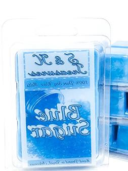 Blue Sugar - Pure Soy Wax Melts - Masculine Scents - 1 pack