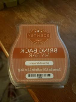 Scentsy Bring Back My Bar Room Deoderizing Wax Melt African