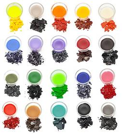 Candle Dye Plus Candle Wicks: 20 colors, 50 pre-waxed wicks,