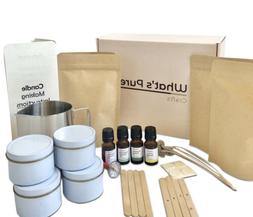 Candle Making Kit, Includes Soy Wax, Essential Oils, Melting