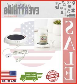 Candle Warmer Plate Drinks and Soups Melts Tarts Scented Wax