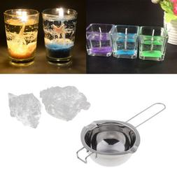 Candle Wax Melting Pot +Jelly Wax for DIY Candle Making Tool