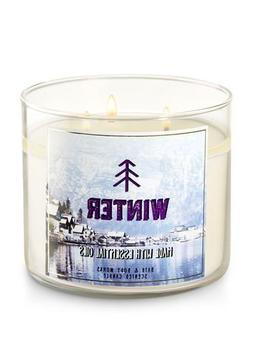 candle winter 3 wick essential