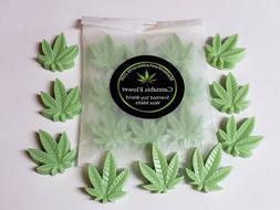 Cannabis Flower Scented marijuana pot leaf wax tart melts ar