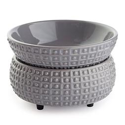 Candle Warmers Etc. Ceramic 2-in-1 Classic Fragrance Warmer,