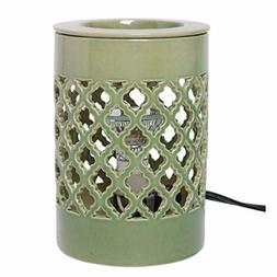 Hosley Ceramic Electric Candle Warmer for Cube Wax Tart Wax