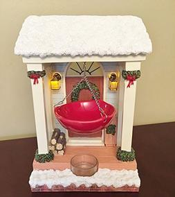 Yankee Candle Ceramic Hanging Holiday Front Door Holly Warme