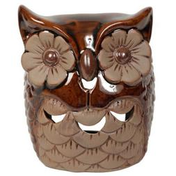 Hosley Ceramic Owl Oil Warmer. Ideal for spa and aromatherap