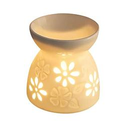 Ceramic Tea Light Candle Holder/Wax Melt Warmer,Singeek Esse