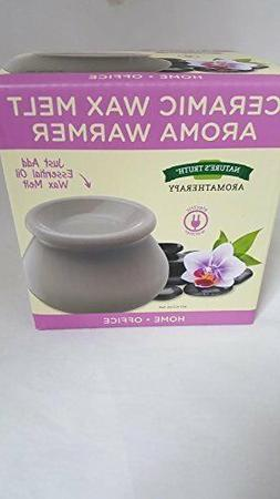 Nature's Truth Ceramic Wax Melt Aroma Warmer, 1 Warmer Per B