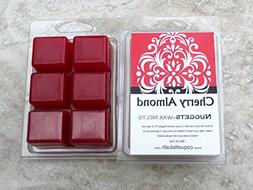Cherry Almond Scented Wax Melts, 2 package Deal, classic rea