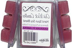 ChicWick Candles 3Pack Hawaiian Plumeria Soy Blend Wax Melts