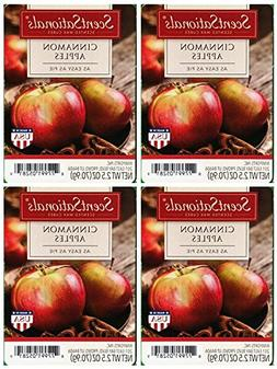 ScentSationals Cinnamon Apples Scented Wax Cubes - 4-Pack