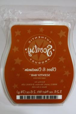 Clove and Cinnamon Scentsy Bar Wickless Candle Tart Warmer W