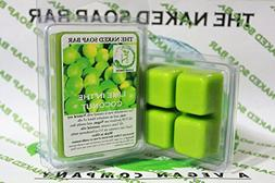 THE NAKED SOAP BAR - LIME IN THE COCONUT SOY WAX CANDLE TART