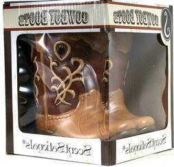 ScentSationals Cowboy Boots Unique Wax Warmer Combines Light