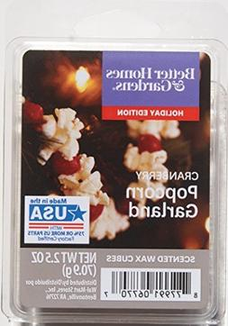 Better Homes and Gardens Cranberry Popcorn Garland Wax Cubes