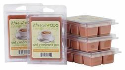 EcoScents Hot Cranberry Tea Wax Melts , Brown