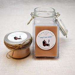 Cubans and Cognac Scented Wax Melt - Paraffin Free - Manly -