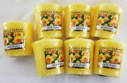 Yankee Candle Lot of 6 Daffodil Votives
