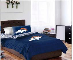 Denver Broncos Queen Comforter & Sheets  + HOMEMADE WAX MELT